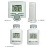 Climatic center + 2 x radiator thermostat + radio temperature transmitters